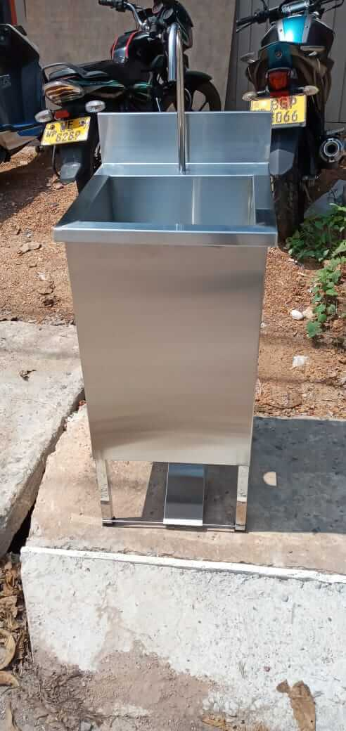 Stainless Steel Pedal Sinks